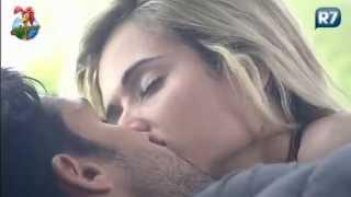 Repeat youtube video A Fazenda 6 Beto e Aryane se beijam 15/07/2013