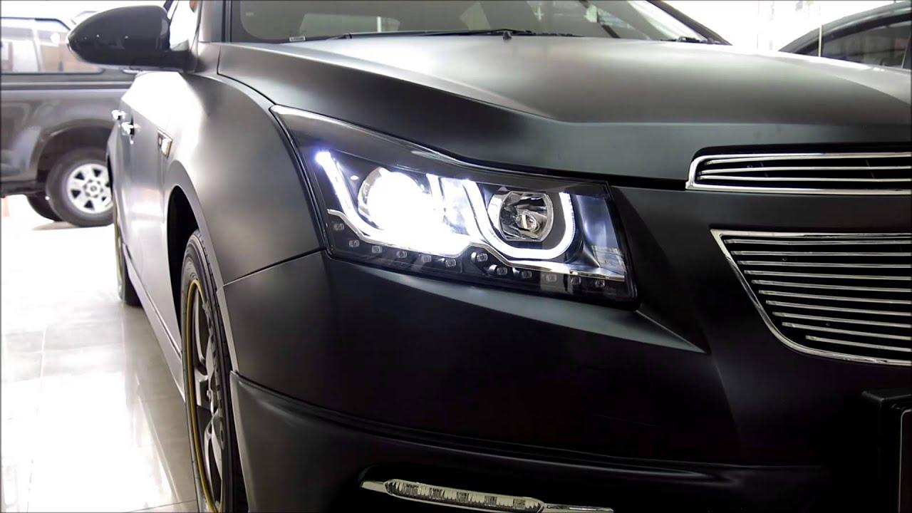 2011-2014 Chevy Cruze SMD LED Driving DRL Fog Lights 6000K ...  |2014 Chevy Cruze Lights