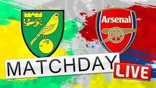 Norwich City v Arsenal // Match Day LIVE - Premier League