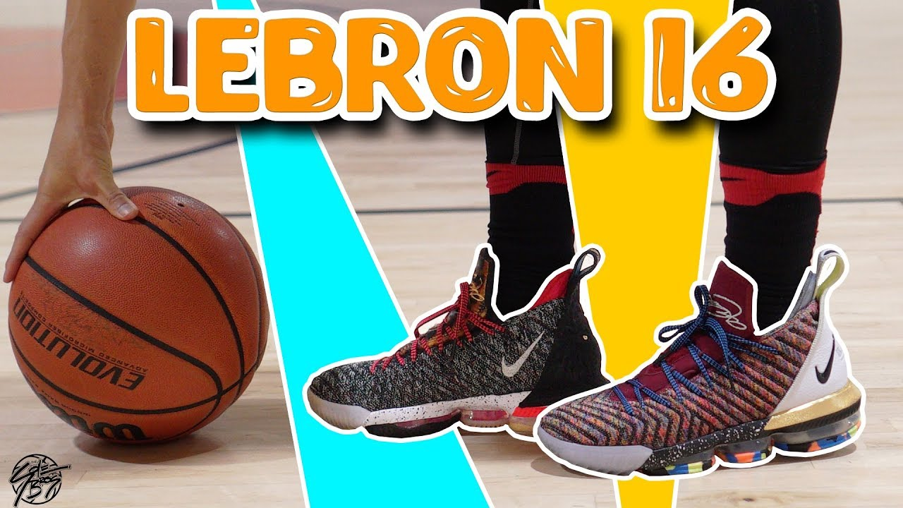 0d05407bedbe3 Nike Lebron 16 Performance Review! - YouTube