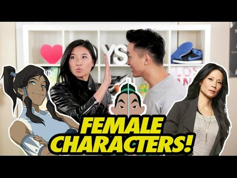 TOP ASIAN FEMALE CHARACTERS OF ALL TIME