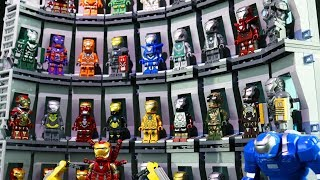 LEGO IRON LEGION | Iron Man's HALL OF ARMOR Collection