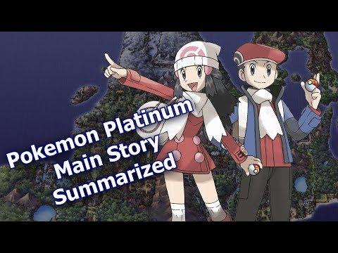 Pokemon Platinum Main Story Summarized