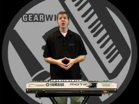 Yamaha Motif 6 Demo