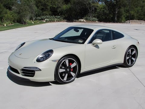 2014 Porsche 911 50th Anniversary Start Up, Quick Drive, and In Depth Review