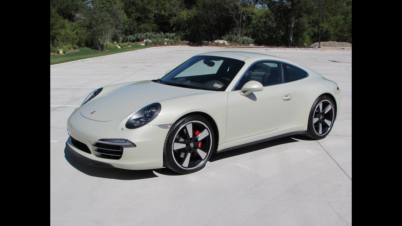 2014 porsche 911 50th anniversary start up quick drive. Black Bedroom Furniture Sets. Home Design Ideas