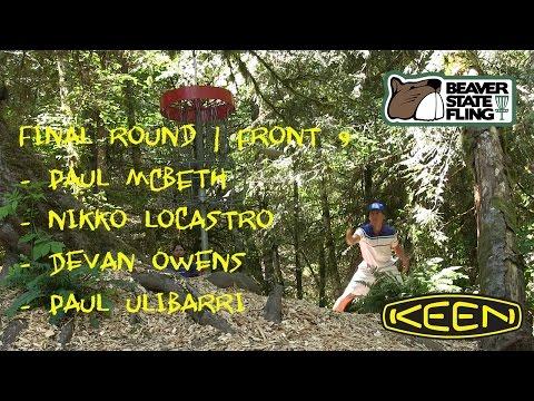 2016 Beaver State Fling - Final Round - Paul McBeth - Nikko Locastro - Devan Owens - Paul Ulibarri