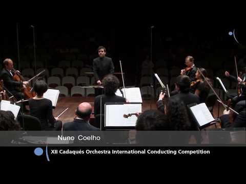 12th Cadaqués Orchestra International Conducting Competition, Final concert. Nuno Coelho, winner.