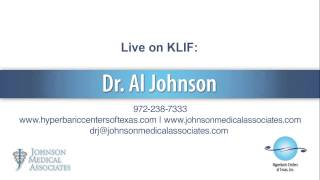 Dr. Al Johnson featured on the radio - 9/23/14