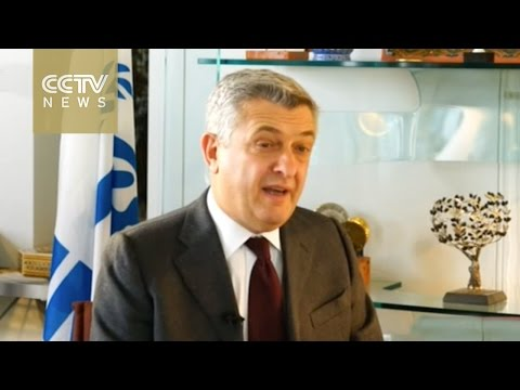 Exclusive: CCTV talks with UN High Commissioner for Refugees on global refugee issue