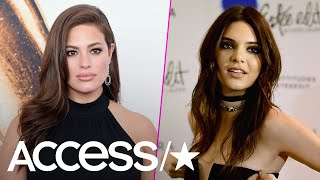 Ashley Graham Throws Subtle Shade At 'Lucky' Kendall Jenner | Access