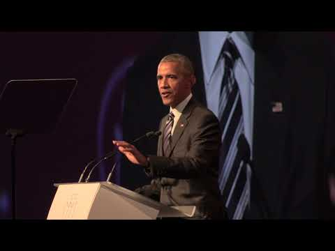 Barack Obama on the US's withdrawal from the Paris climate accord