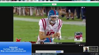 RSP Film Room No. 107: QB Chad Kelly (Ole Miss)