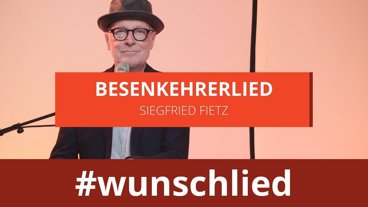Siegfried Fietz sing 'Besenkehrerlied' #wunschlied