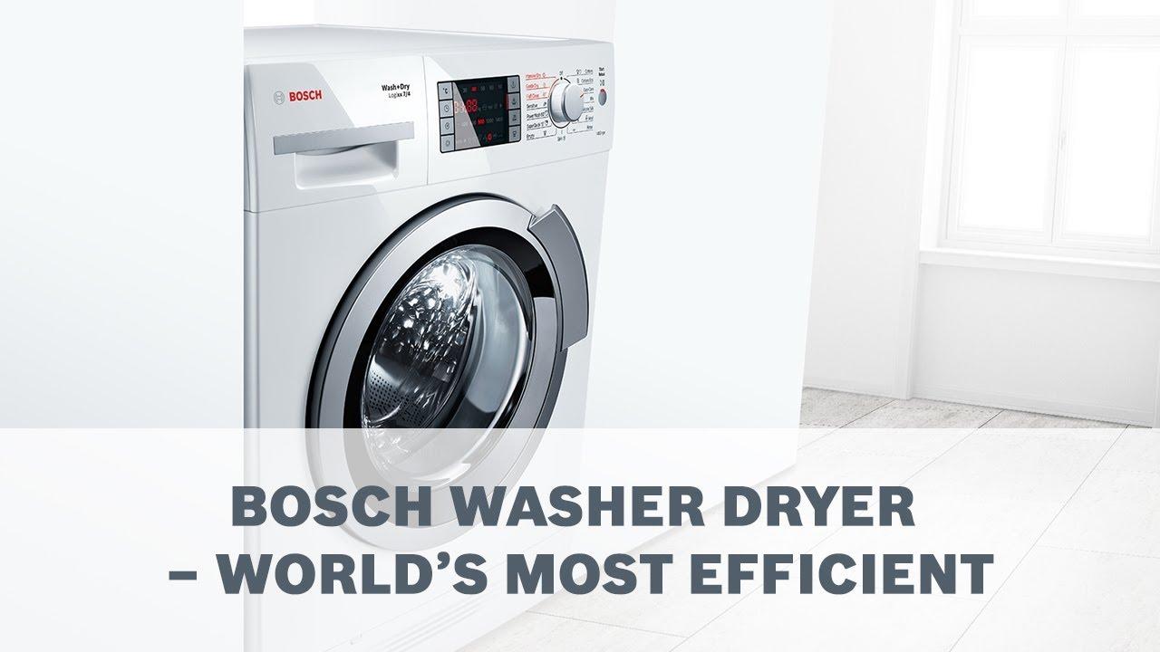 bosch washer dryer. Bosch Washer Dryer - World\u0027s Most Efficient