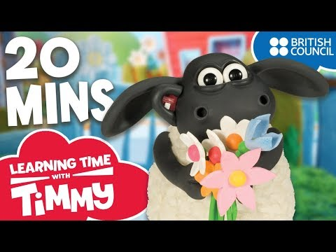 Full Episodes Compilation 17-20 | Learning Time with Timmy | Cartoons for Kids letöltés