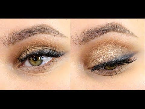 Быстрый и простой макияж на день или вечер