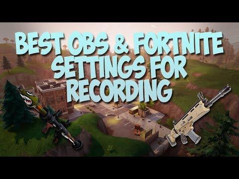 Best Settings Obs Vegas Pro 1440p 144fps Fortnite Youtube