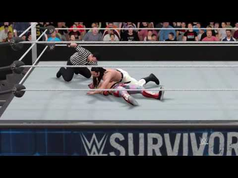WWE Survivor Series 2016: Brian Kendrick vs Kalisto WWE 2K17 Prediction