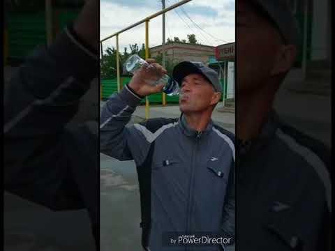 Выпил бутылку водки залпом, Тарановское, Костанайская область, Казахстан