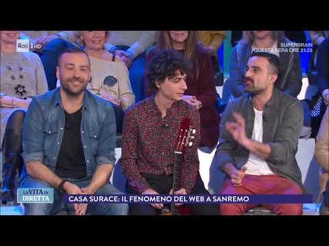 Sanremo 2018 i Casa Surace voce social del Festival