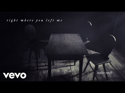 Taylor Swift sorprende lanzando Right where you left me
