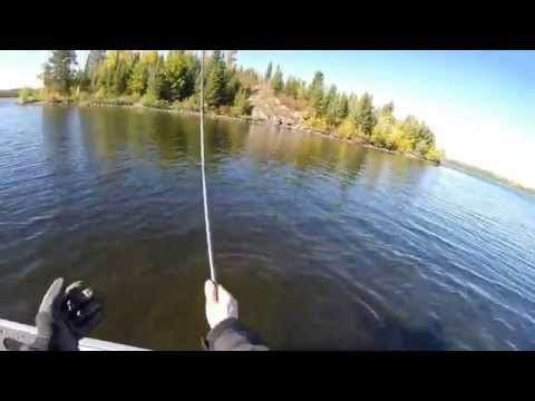 Catching Fish - Boundary Waters Canoe Area - Praire Portage Basswood Lake
