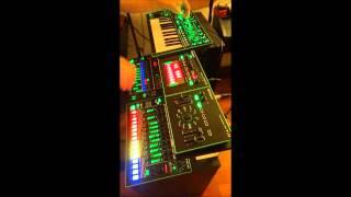 Live Improv Techno Jam (ROLAND AIRA TR-8, MX-1, SYSTEM-1)