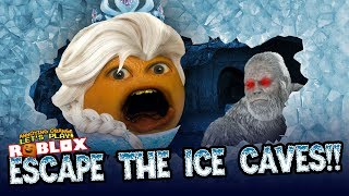Annoying Orange - Escapes the Ice Caves!! | ROBLOX
