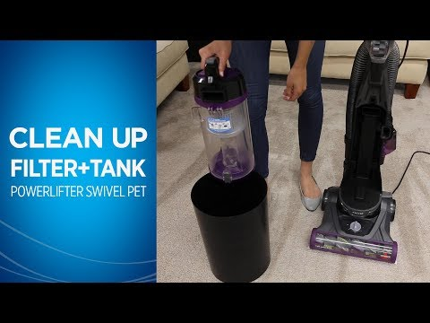 How to Clean the Filters and Dirt Tank on Your BISSELL® Powerlifter™ Swivel Pet Vacuum Cleaner