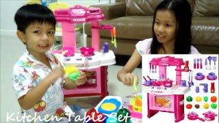 Kitchen Table Set Toy