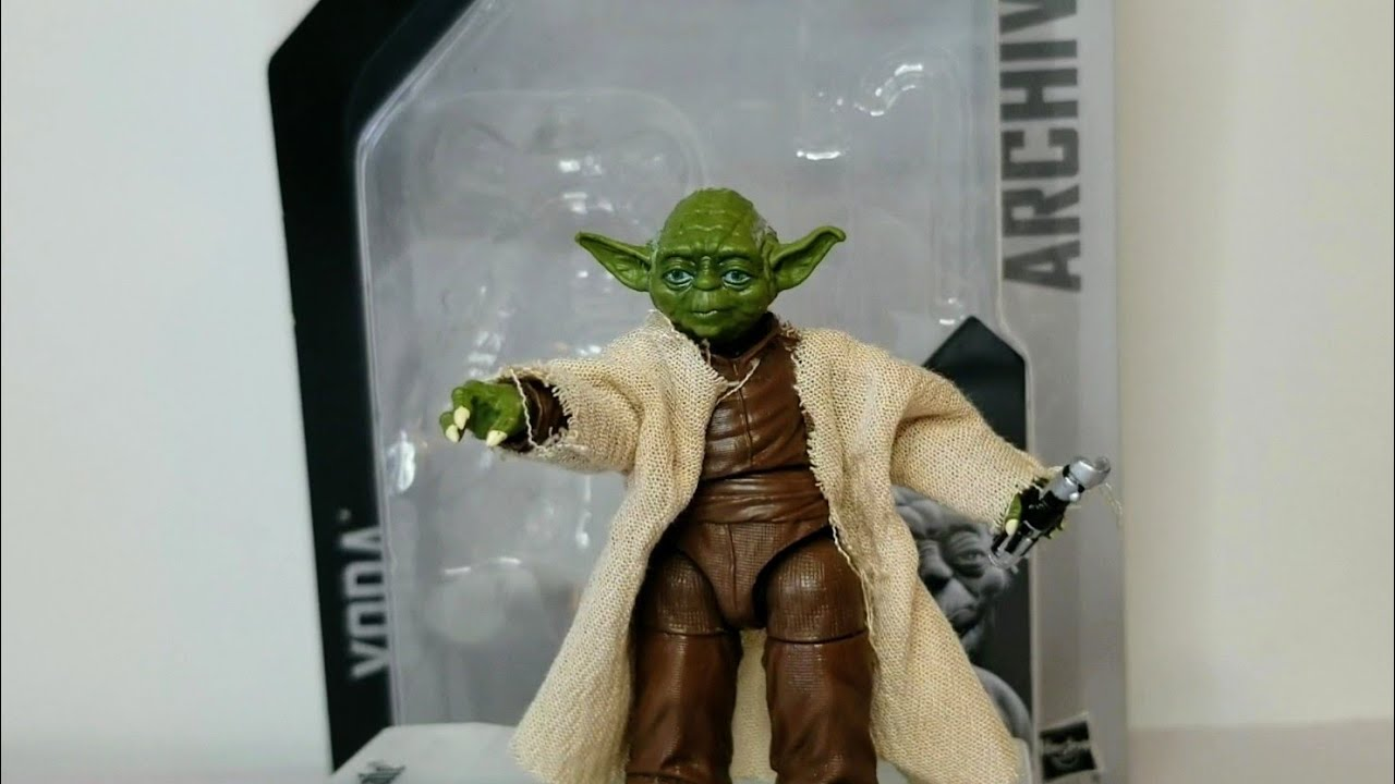 Yoda Star Wars Black Series 6 Inch Action Figure Archive
