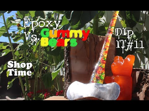 How to make a gummy bear axe because you clearly need one