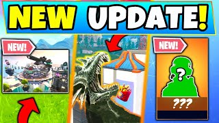 "Fortnite Update: *NEW* SECRET MODE, SEA MONSTER'S ""HUNGRY"", New Skins! (Battle Royale)"