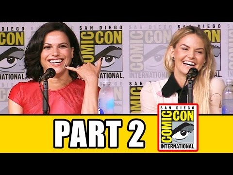 ONCE UPON A TIME Season 6 Comic Con Panel Highlights Part 2  Lana Parrilla, Jennifer Morrison