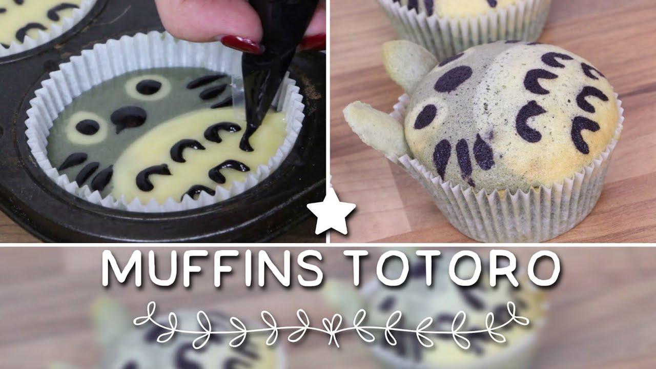 Favori RECETTE MUFFINS TOTORO | TOTORO CAKE - YouTube PL86