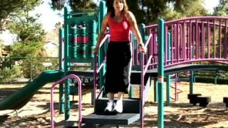 How to Use a Step Up in Playground Fitness