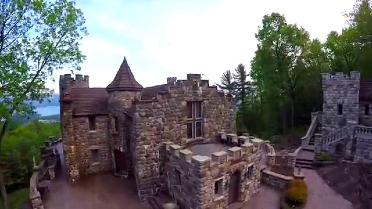 exquisite highlands castle in bolton landing new york youtube