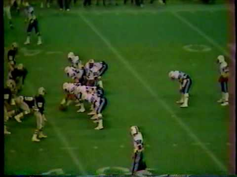West Brook vs Baytowns Sterling 1982 Texas 5A Playoffs-2nd Round (Part 3)