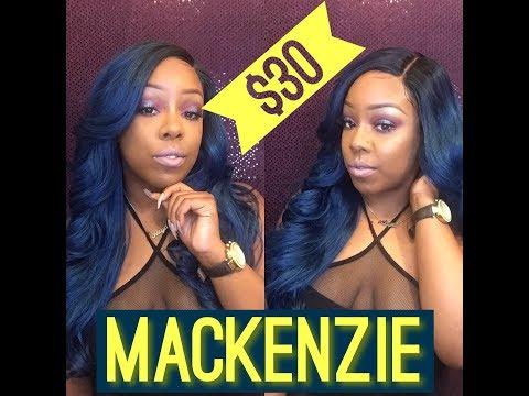 Affordable Electric Blue Slay?!? L Freetress Mackenzie