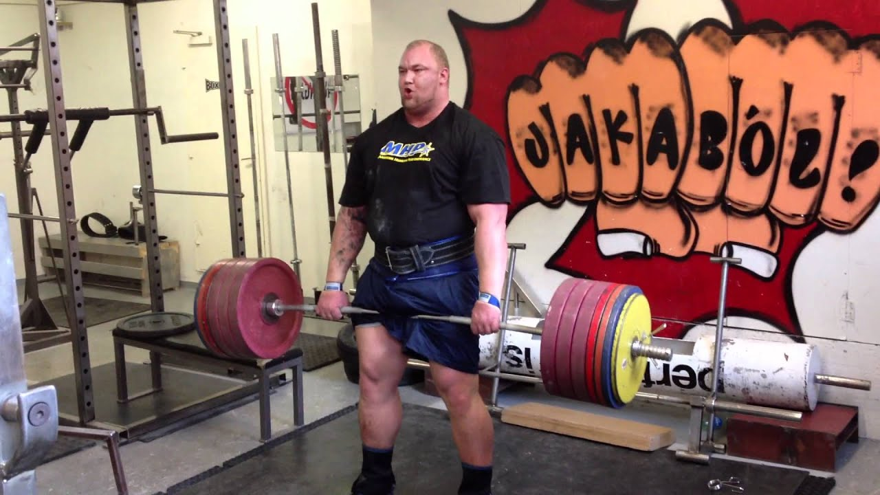 Hafthor Julius Training For Europes Strongest Man YouTube