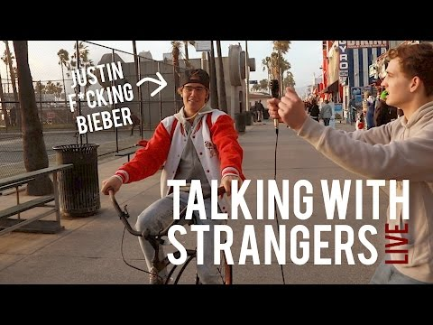 TALKING WITH STRANGERS ft. JUSTIN BIEBER *Not Clickbait*
