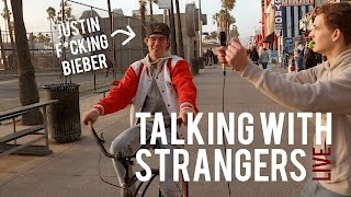 TALKING WITH STRANGERS ft JUSTIN BIEBER *Not Clickbait*