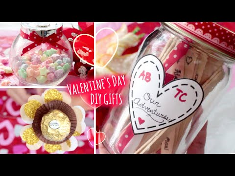 DIY Valentine\'s Day Gifts Ideas l Quick and Easy Gift to Make for ...
