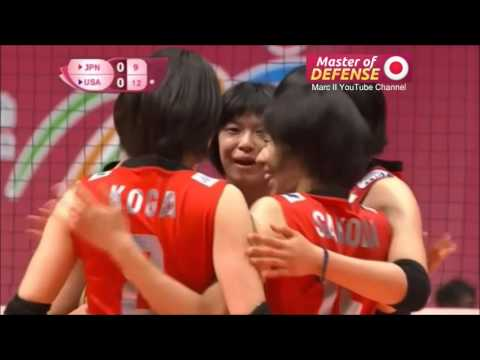 "Japan - ""Master of Defense Part 2"" [Highlights] 2015 FIVB WGP Pool E & H [720p]"