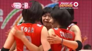 "Japan 日本  - ""Master of Defense Part 2"" [Highlights] 2015 FIVB World Grand Prix Pool E & H [720p]"