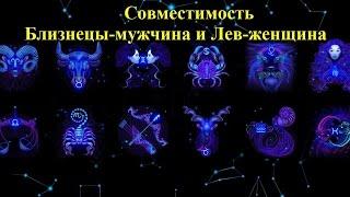 видео Совместимость знака Близнецы и Лев