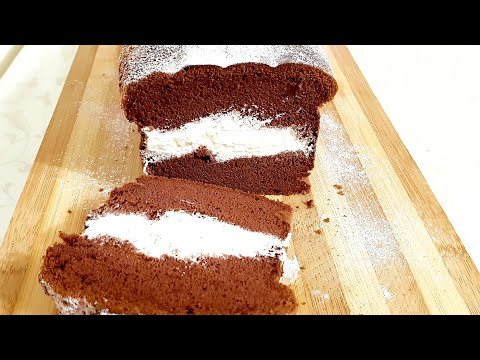 Шоколадный Японский Бисквит/Chocolate Castella Cake