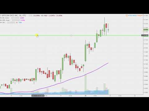 Bitcoin Services Inc - BTSC Stock Chart Technical Analysis For 11-20-17