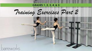 GRADES 1, 2, 3, 4, & 5 - Training Exercises Pt 2